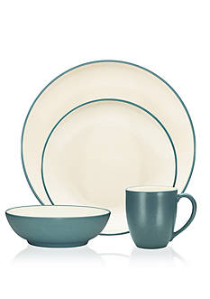 Noritake Colorwave Turquoise Coupe 4-Piece Place Setting