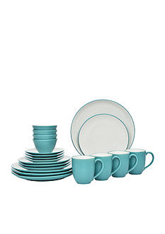 Noritake Colorwave Turquoise 20-Piece Dinnerware Set
