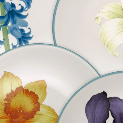 Bed & Bath: Noritake Apartment Living: Colorwave Turquoise Noritake Colorwave Turquoise Rim Salad Plate