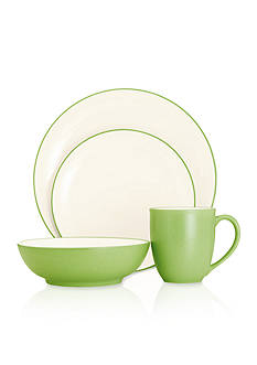 Noritake CLWV APPLE 4PP COUPE:Multiple:PASTEL GRN