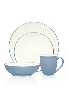 Noritake Colorwave Ice Blue Coupe 4-piece Set