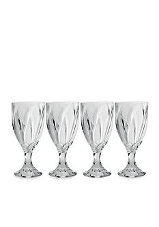 Noritake Breeze Clear Set of 4 Goblets