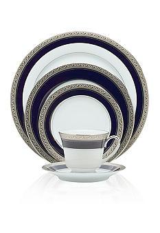 Noritake Crestwood Cobalt Platinum Collection