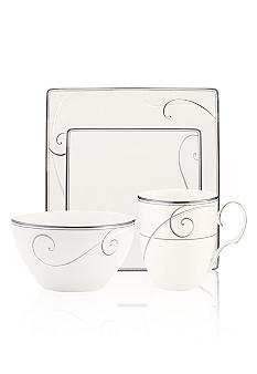 Noritake Platinum Wave Square