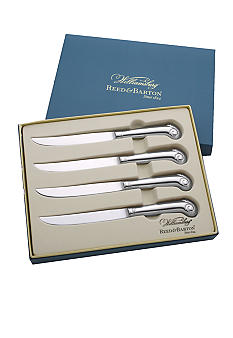 Reed & Barton Royal Shell Set of 4 Steak Knives