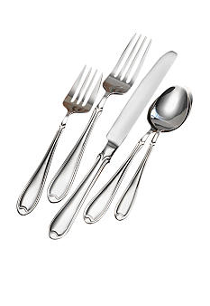 International Silversmith Summerset Plain 44 Piece Set