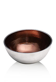 Towle Hammersmith Jewels Smoky Quartz Round Bowl 11-in.