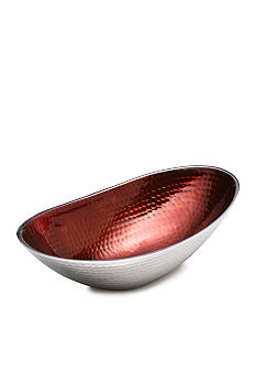 Towle Hammersmith Jewels Ruby Oval Bowl 12-in.