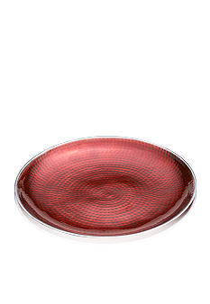 Towle Hammersmith Jewels Ruby Round Platter 13-in.