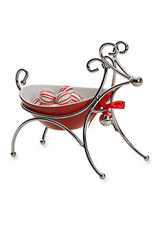 Towle Reindeer Candy Dish