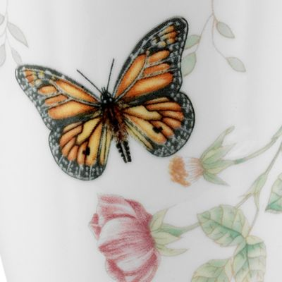 Coffee Cup: White Lenox Butterfly Meadow Monarch Mug