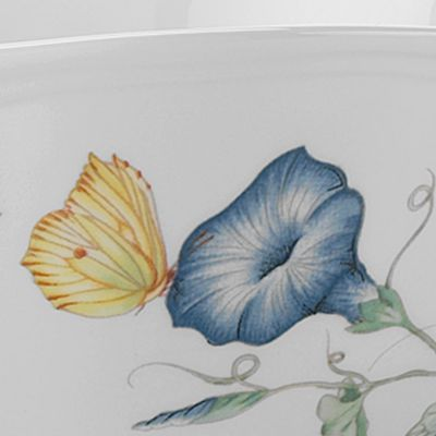 Lenox Dinnerware: White Lenox Butterfly Meadow Friend Mug