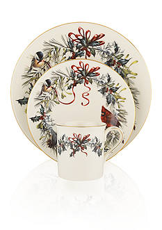Lenox Winter Greetings 12-Piece Dinnerware Set