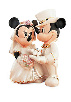 Lenox Mickey & Minnie's Dream Wedding Figurine - Online Only