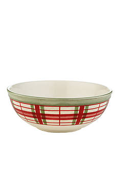 Lenox HGATH AP BOWL PLAID