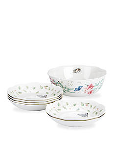 Lenox Butterfly Meadow 7-Piece Pasta Bowl Set