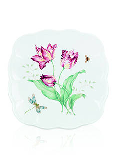 Lenox Butterfly Meadow Square Accent Plate - Online Only