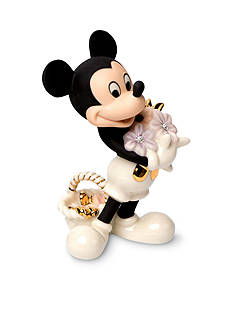 Lenox Mickey's Flowers for You Figurine - Online Only