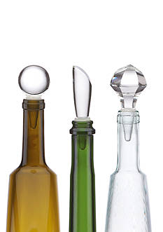 Lenox Tuscany Bottlestop Set of 3 Wine Stoppers