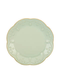 Lenox French Perle Ice Blue Salad Plate