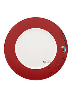 Lenox Chirp Scarlet 10.75-in. Dinner Plate
