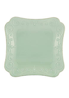 Lenox French Perle Ice Blue Square Dinner