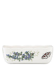 Lenox Butterfly Meadow Herbs Loaf Pan