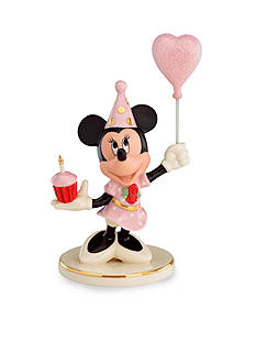 Lenox Birthday Cheer from Minnie Mouse Figurine - Online Only