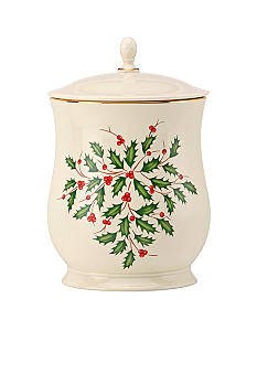 Lenox Holiday Cookie Jar