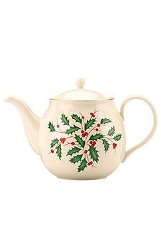 Lenox Holiday Teapot