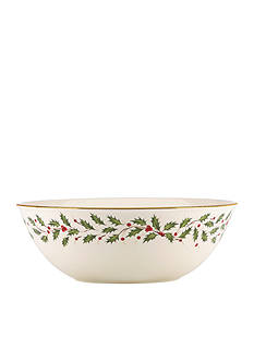 Lenox Holiday Large Serving Bowl 10.5-in.