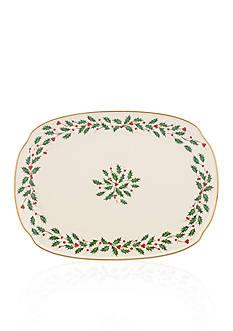 Lenox Holiday Oblong Platter