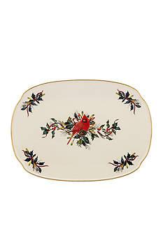 Lenox Winter Greetings Oblong Platter