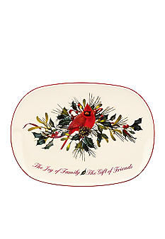 Lenox Winter Greetings Gift of Friends Platter