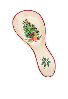 Lenox Holiday Inspirations & Illustrations Spoon Rest