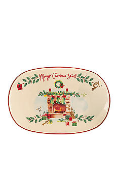 Lenox Holiday Inspirations and Illustrations Merry Christmas Y'all Tray