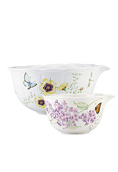 Lenox Butterfly Meadow Mixing Bowls - Set of 2
