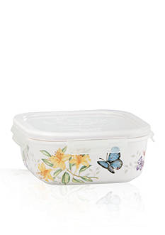 Lenox Butterfly Meadow Square Serve and Store Container