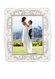 Lenox The Opal Innocence Silver 8x10 Frame - Online Only
