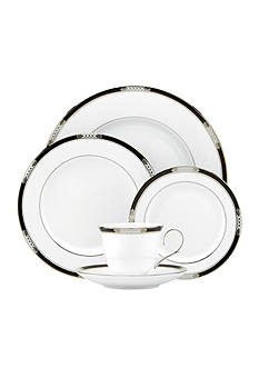 Lenox Hancock Platinum White 5-Piece Place Setting