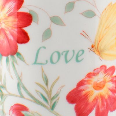 Coffee Cup: Multi Lenox Butterfly Meadow Monarch Mug