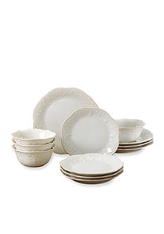 Lenox French Perle 12-Piece Dinnerware Set