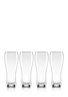 Lenox Tuscany Wheat Beer Drinkware Set of 4