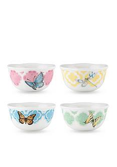Lenox Butterfly Meadow Trellis Set of 4 Dessert Bowls