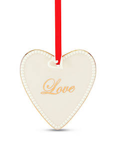 Lenox Words to Live By - Love Ornament
