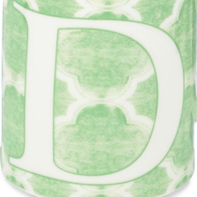 For the Home: Monogram Shop Sale: D Lenox BM INITIAL MUG T - PINK