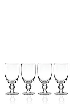 Lenox Set of 4 Tuscany All Purpose Glassware Collection