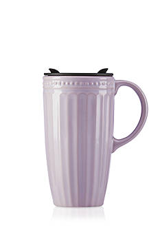 Lenox French Perle Groove Thermal Travel Mug