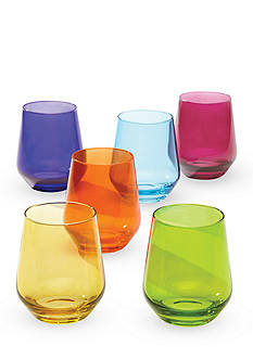 Lenox Tuscany Classics Cool Colors Assorted - Set of 6