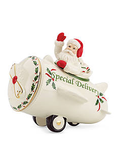 Lenox Santa's Holiday Special Delivery Cookie Jar